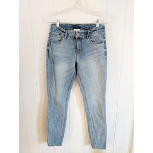 For the Republic skinny distressed jeans 28x29